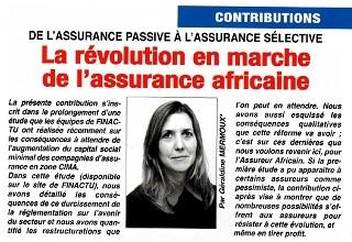 La révolution en marche de l'assurance africaine