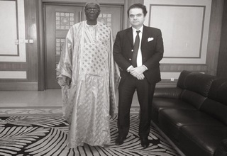 Mr. Denis CHEMILLIER-GENDREAU, President of the FINACTU Group, had the privilege of meeting the Minister of Labor of the Republic of Senegal today in Dakar.