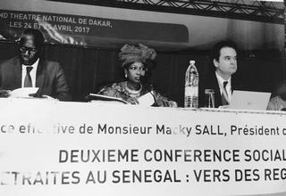 The FINACTU Group spoke at the Senegalese National Conference on Retirement on April 24 and 25, 2017.